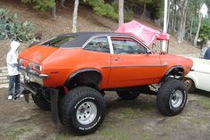 "fordmancm: """" I was crusin down the street in my Pinto. 4x4 Trucks, Cool Trucks, Chevy Trucks, Diesel Trucks, Redneck Trucks, Monster Car, Monster Trucks, Ford Pinto, Lifted Cars"