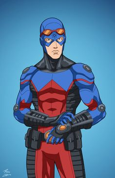 The Atom (Earth-27) commission by phil-cho.deviantart.com on @DeviantArt