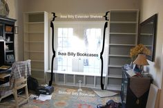 Billy Bookcase Built Ins
