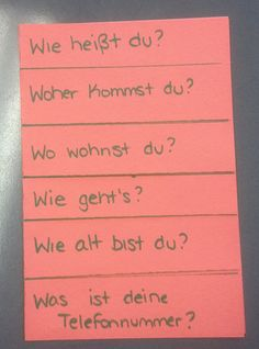 I'm not sure if anyone else has this problem, but I've noticed that year after year my German 1 students don't do a great job with our first...