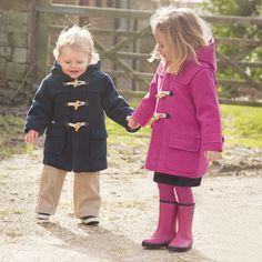 Ganse Wool Duffle Coat by Jacadi at Gilt | Children Clothing ...