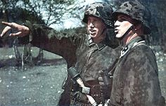 SS soldier with camo smock | GLORY. The largest archive of german WWII images | Flickr