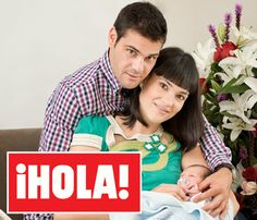 En ¡HOLA!: Irene Villa y Juan Pablo Lauro presentan a su hijo, Carlos