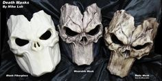 Death Masks by Uratz-Studios