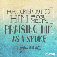 Psalm 66:17