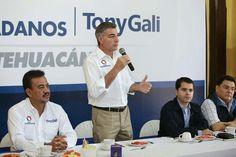 Tony Gali fortalecerá la seguridad de Tehuacan
