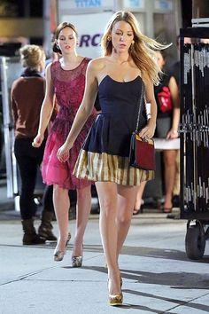 Blair Waldorf and Serena Van Der Woodsen // Gossip Girl