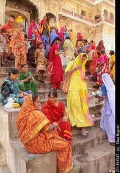 Galta Temple in Jaipur, India. World Of Color, Color Of Life, Bollywood Stars, Namaste, India Colors, Colours, Amazing India, Rajasthan India, India India