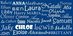 Siga estas dicas e inspire-se na nossa lista de nomes femininos americanos para escolher o nome perfeito para a sua filha.