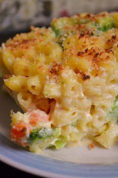 Roasted Vegetable Mac n' Cheese