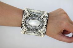 Beaded Mother of Pearl