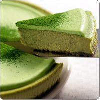 matcha green tea cheese cake