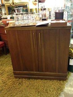 Captivating 1960u0027s Saginaw Danish Modern Bar/ Server   $595