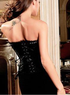 Corset Noir Baroque
