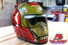 With over a decade of experience in the custom painting and airbrush painting, Blaze Artworks is an award winning paint studio. Select from one of the 100+ custom motorcycle helmet designs already in stock or submit your own helmet design to a professional Blaze craftsmen. Either way, you are sure to end up with a …