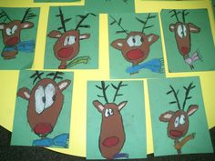 Directed Drawing Rudolph's.