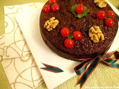 Mis recetas favoritas: Torta negra de Navidad