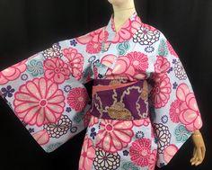 浴衣 YUKATA JAPONAIS - FLOWER BOOM 03 - 1416