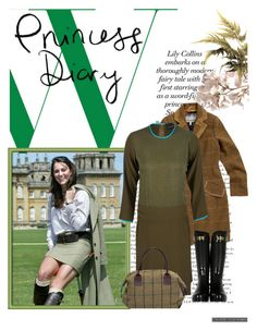 Princess Diary by mimjersey on Polyvore featuring polyvore, fashion, style, Cynthia Rowley, Joules, Hunter, clothing, plaid, wellington boots and tweed