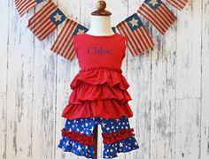 Americana Short Set