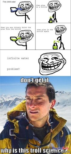 PhysicsFails.com: infinite water trick