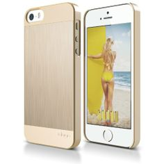 awesome Incase iPhone Cases | elago S5 Outfit MATRIX Aluminum and Polycarbonate Dual Case for the iPhone 5/5S - eco friendly Retail Packaging (Gold / Gold)
