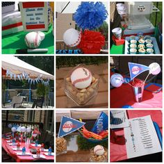 Baseball Birthday Party Ideas Decorations