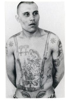 A Enciclopédia Visual de Tatuagens de Cadeia Russas | VICE Brasil