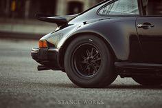 black magnus walker outlaw wheels porsche 911