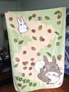 My Neighbor Totoro Soft Blanket!  Um, yes please!