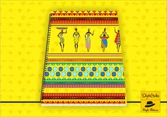 Tribal print in rich yellow color! #notebook #forsale #yellow #Digitaltadka #ethnic