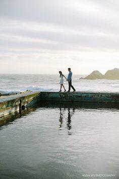 San Francisco Engagement Photography | Sutro Baths
