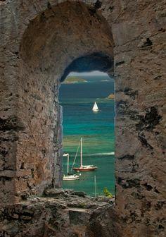 Peace Hill, Coral Bay, Saint John Island, US Virgin Islands