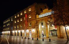 Nocturna del Palau de Mar i seu del Museu d'Història de Catalunya, Barcelona | Flickr: Intercambio de fotos (Catalonia)
