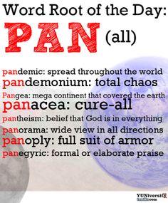 #wordroot #pan