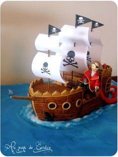pirate food ideas - pirate food ideas + pirate food ideas for kids Cupcakes, Cupcake Cakes, Titanic Cake, Peter Pan Cakes, Pirate Food, Cake Designs For Kids, Pirate Ship Cakes, Boat Cake, Gravity Cake