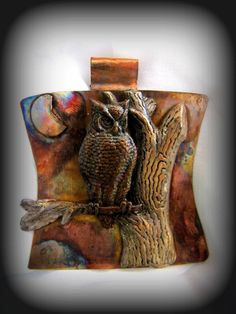 Night Owl by HandForgedWithLove on Etsy