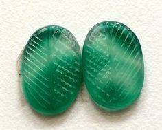 Green Onyx Hand Carved Green Gemstones Carving by gemsforjewels