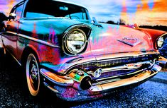 A Technicolor 1957 Chevrolet Bel Air Will Get You There by Ben Stein 1957 Chevy Bel Air, Chevrolet Bel Air, Ben Stein, Pink Cadillac, Learning To Drive, Rene Magritte, Weekender Tote, Art World, Beach Towel