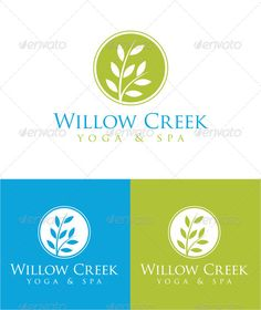 Willow Creek — Photoshop PSD #modern #tree • Available here → https://graphicriver.net/item/willow-creek/4539907?ref=pxcr