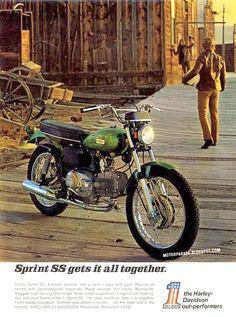 Harley Davidson, USA, 1971
