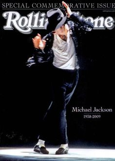 Michael Jackson will always be the King of Pop.Eye dont kare i liked michael. Rolling Stone Magazine Cover, The Jackson Five, Jackson Family, Mike Jackson, Paris Jackson, Rock Roll, Freedy Mercury, Photo Portrait, King Of Music