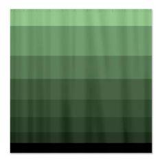 #minimal green #ombre gradient style #shower curtain $45.99 #homedecor #bath