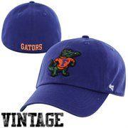 47 Brand Florida Gators Vault Franchise Fitted Hat - Royal Blue     florida 2fe223424303