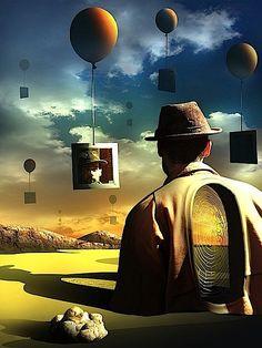 """Digital Surrealism"" by Marcel Caram... so Salvadore Dali-ish!!!"