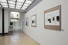 """Ausstellung """"Sinnfindung im Erbe von Mies van der Rohe - Werk Werner Blaser - Edition LÖFFLER"""" an der Universität der Künste Berlin (Fotografie: Ulrich Schwarz)"""