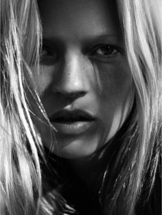 Kate Moss by Davis Sims