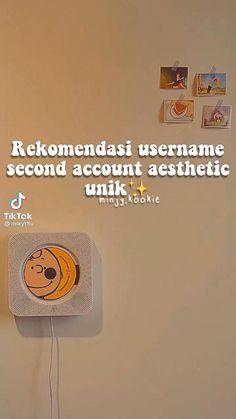 #tiktok Aesthetic Names, Aesthetic Movies, Aesthetic Videos, Bio Quotes, Music Quotes, Foto Instagram, Instagram Quotes, Aesthetic Usernames, Life Hacks Websites