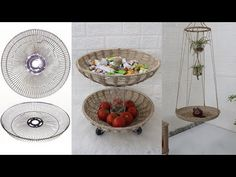 Amazing Recycle ideas Broken Fan into useful thing   Jute Craft Ideas - YouTube Jute Crafts, Wooden Boxes, The Creator, Recycling, Craft Ideas, Amazing, Youtube, Decorating, Rope Crafts