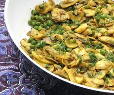 KataKonyha: Indiai sült gomba zöldborsóval Macaroni And Cheese, Paleo, Food And Drink, Meals, Chicken, Cooking, Ethnic Recipes, Kitchen, Mac And Cheese